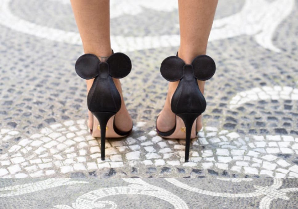 0859da521be Minnie Mouse stilettos by Oscor Tiye have people falling head over ...