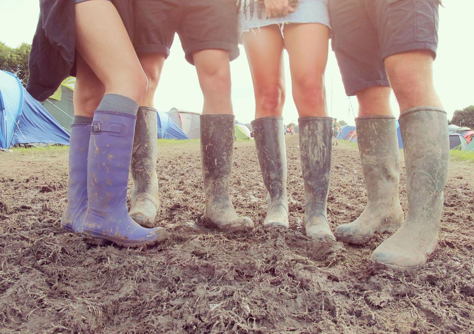 Whether you're going to Glastonbury or Bestival, keep your feet happy with  a practical pair of wellington boots