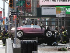 Injured pedestrian says Times Square driver's actions 'intentional'