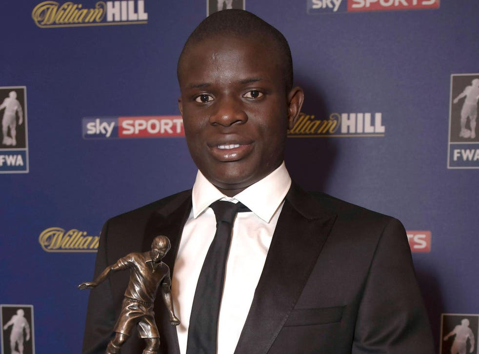 N'Golo Kante added another individual award after a fine first season for Chelsea