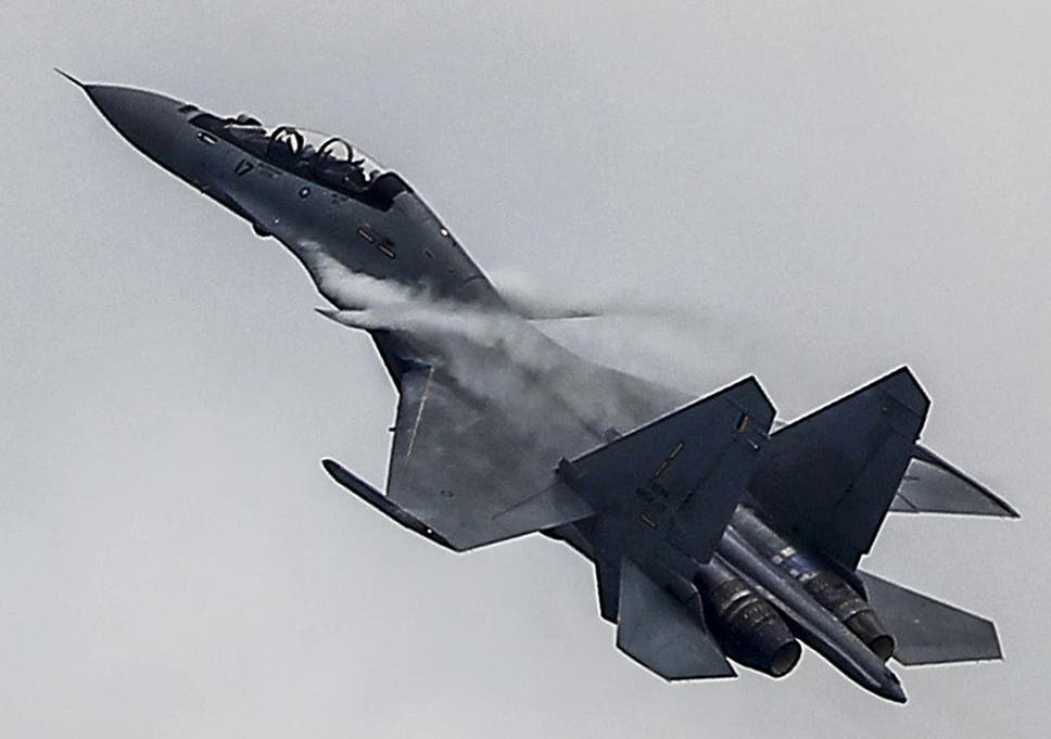 US condemns China after jet flies upside-down above American