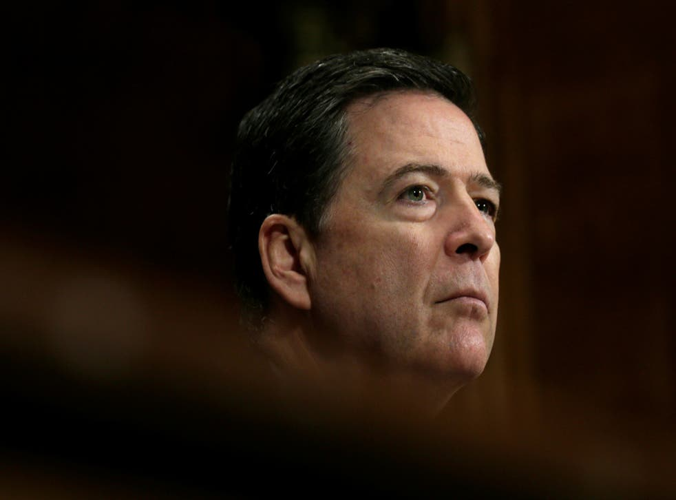 Fired FBI Director James Comey