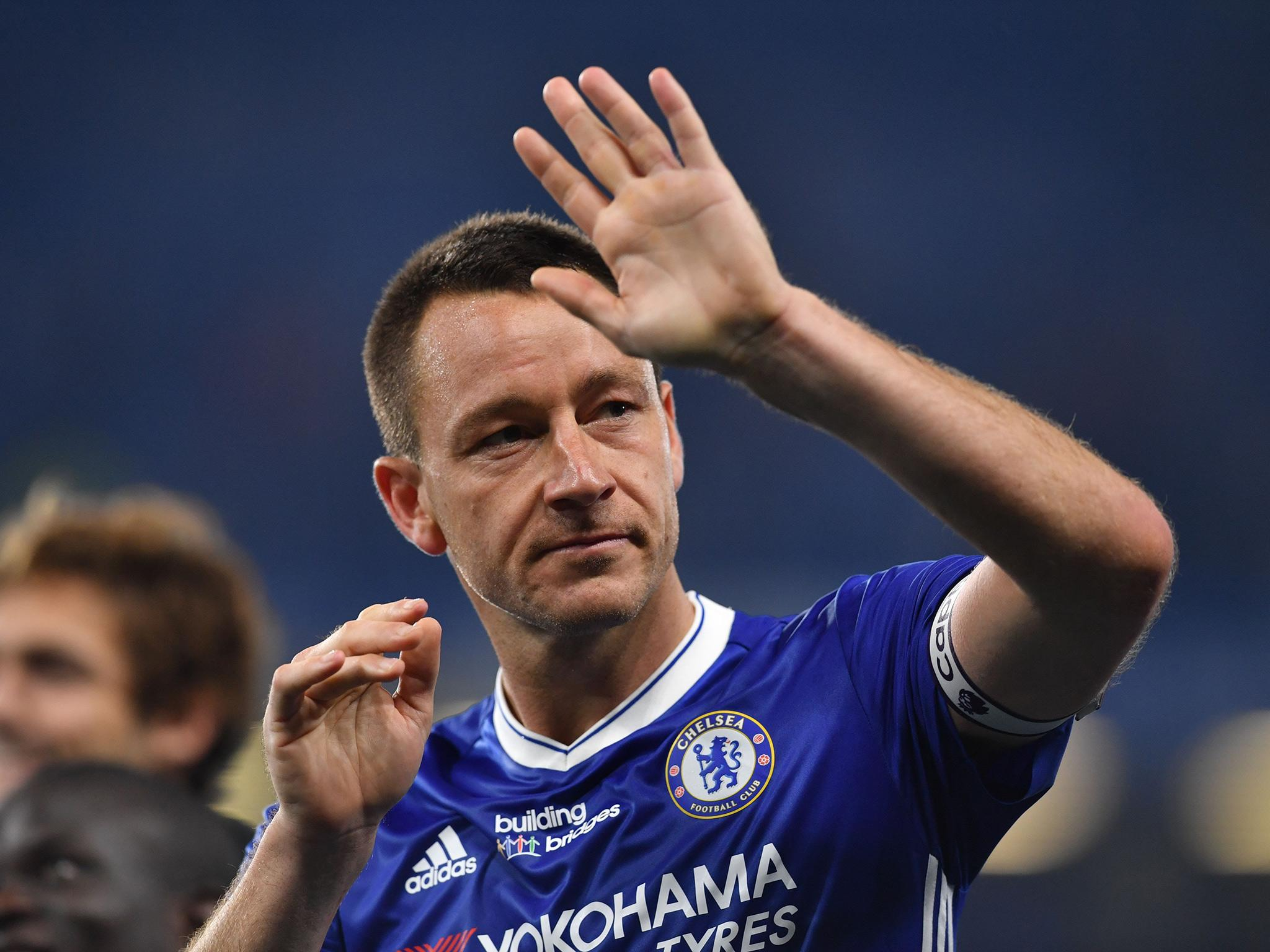 Antonio Conte backs John Terry to be a 'good manager' ahead of Chelsea swansong