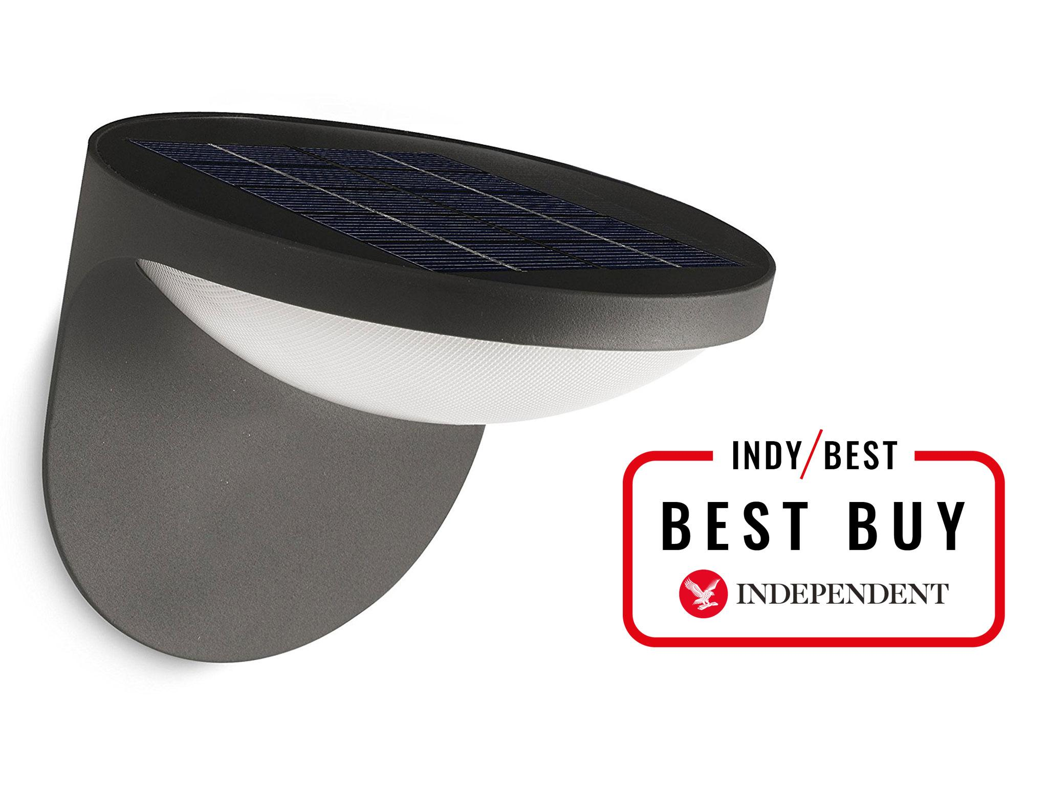 8 Best Solar Powered Lights The Independent Wiring A 2 Gang Light Switch For Separate Uk Nobody Does Lighting Quite Way