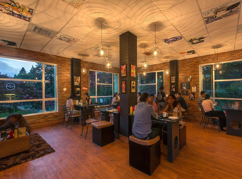 A cafe dedicated to all things Dylan opened up last year in the hill station