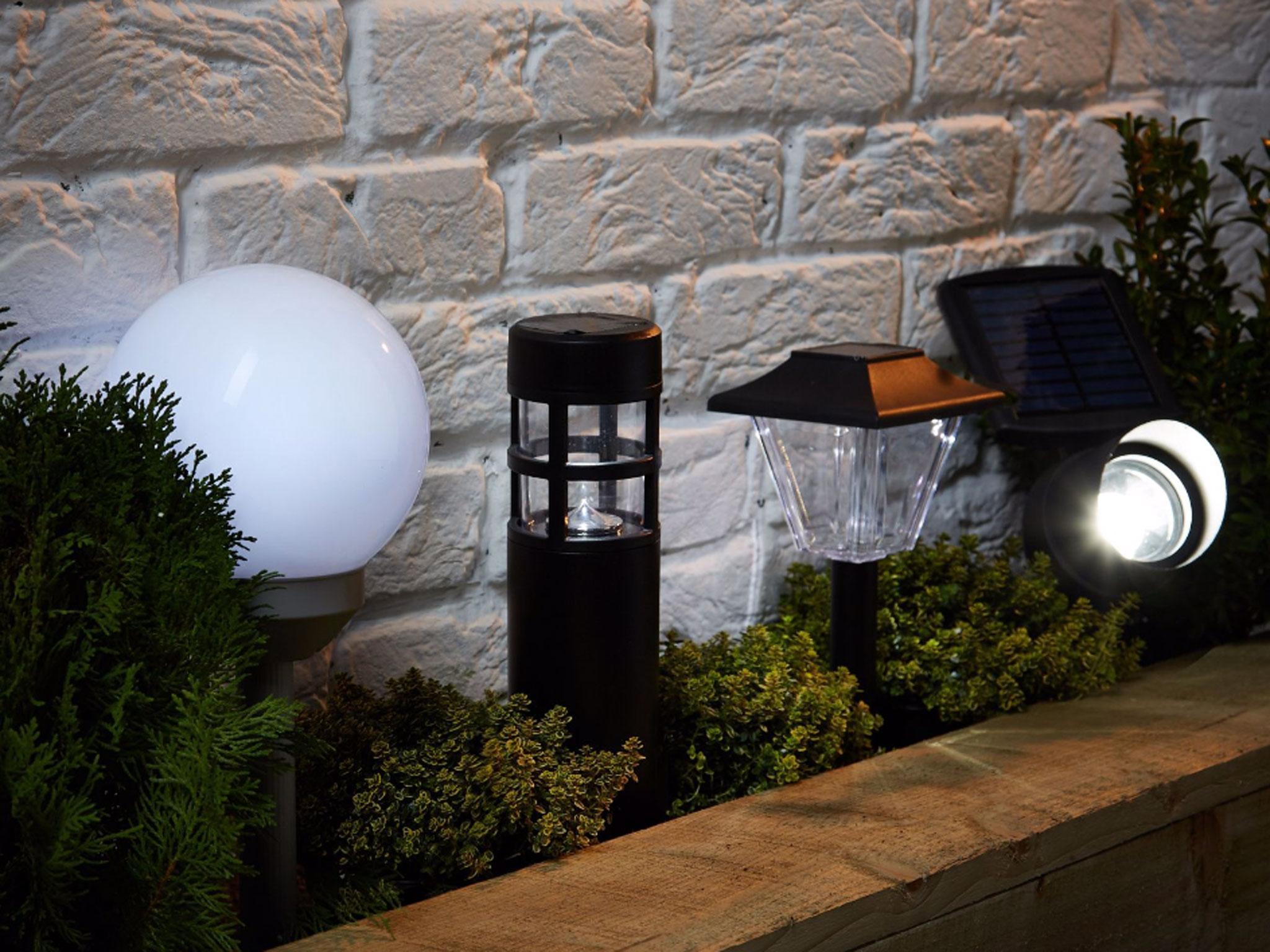 3 Solar LED Bright Deck Lights Outdoor Garden Patio Railing Path Lighting WHITE
