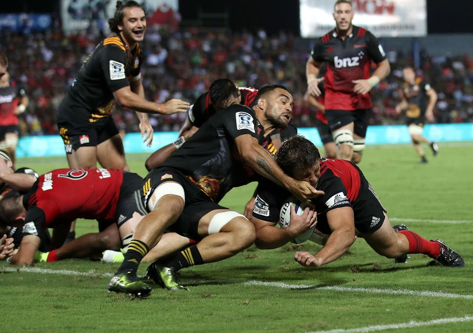 97d157fb23f Crusaders and Chiefs send a warning sign to the British and Irish Lions as Super  Rugby lights up Suva