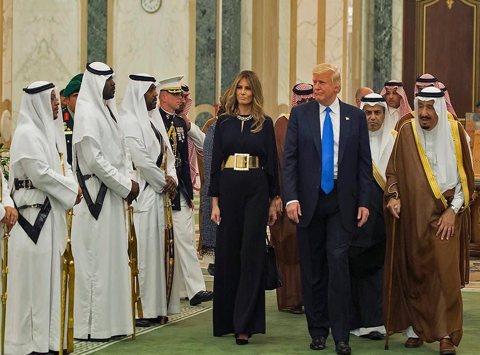 Mr Trump's speech was written by architect of failed Muslim ban, Stephen Miller