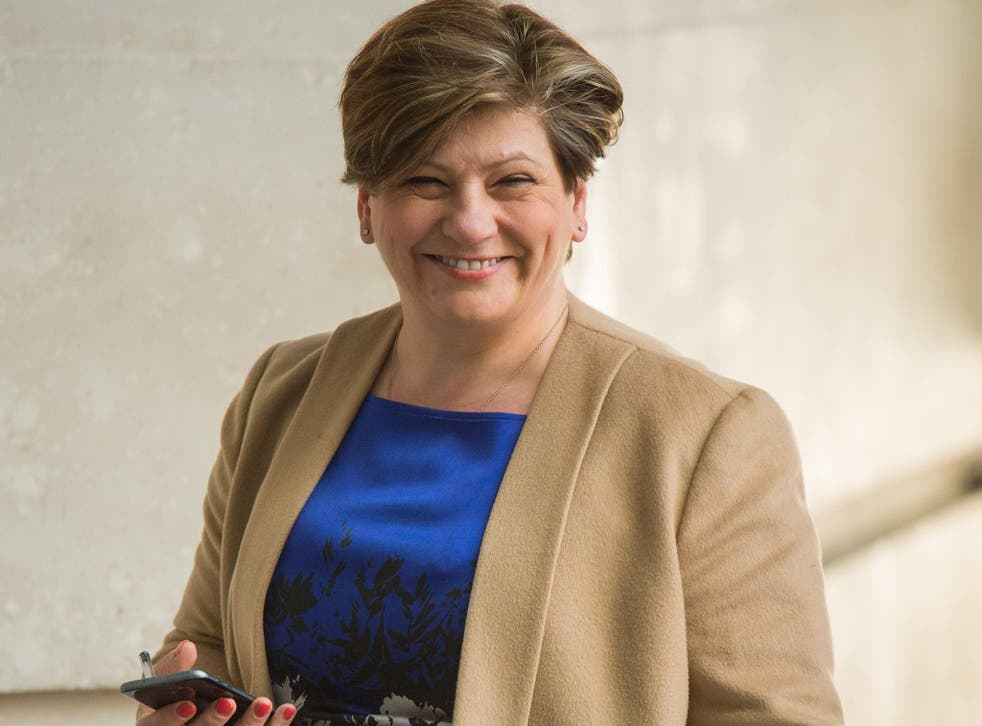 Emily Thornberry said Labour wanted a new agreement 'pretty much like the current customs union'