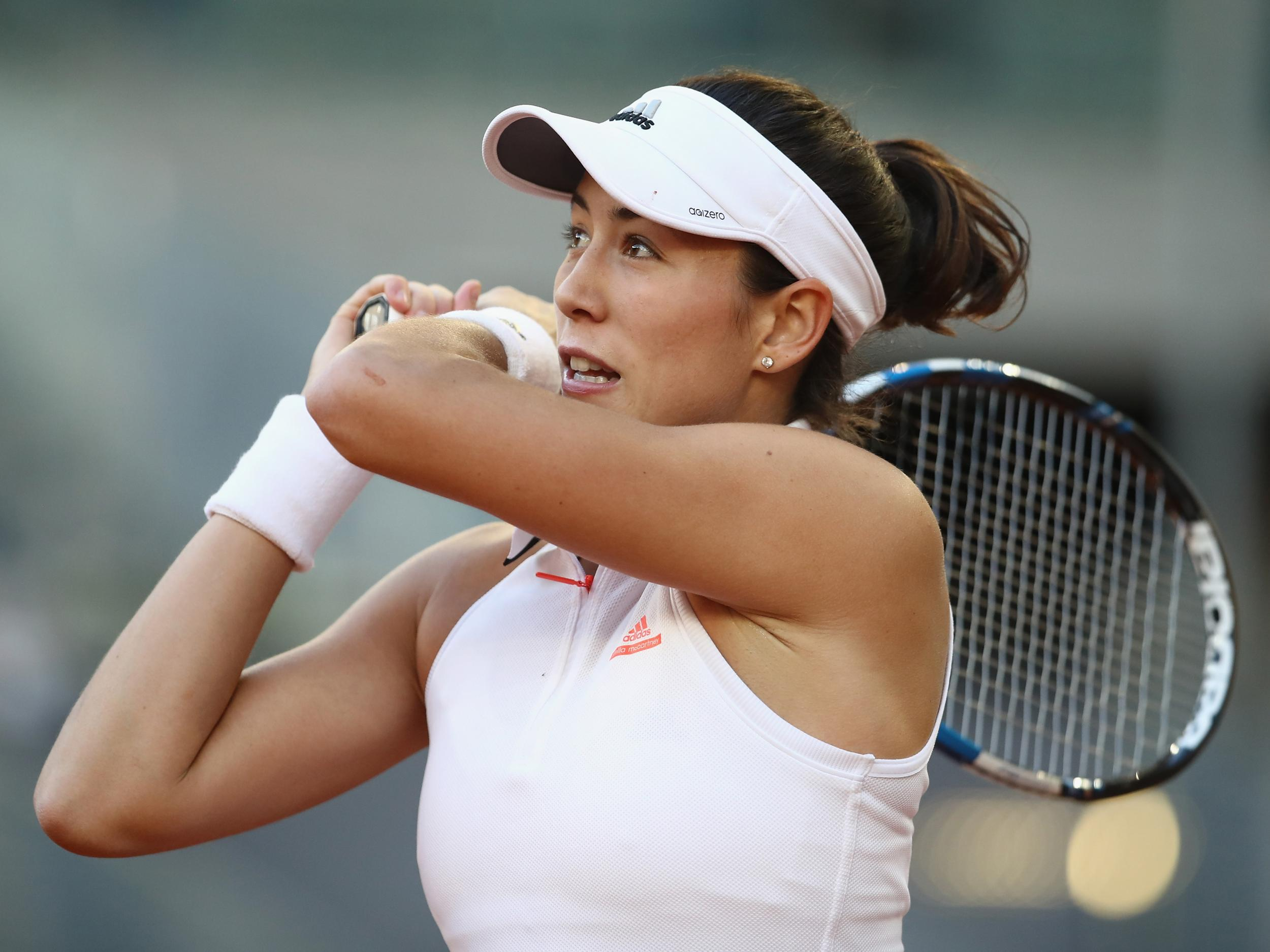 Injury scare for reigning Roland-Garros champion Garbine Muguruza as she retires hurt from Italian Open