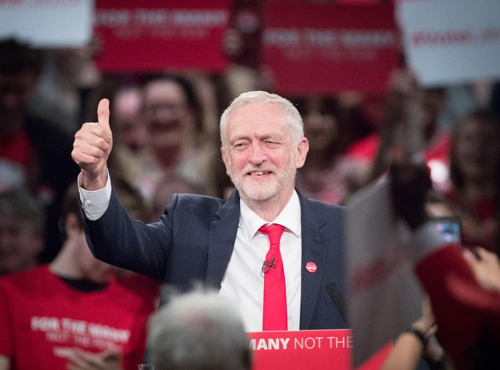Party has made consistent gains in recent weeks as leader Jeremy Corbyn claimed his message was finally getting through to voters