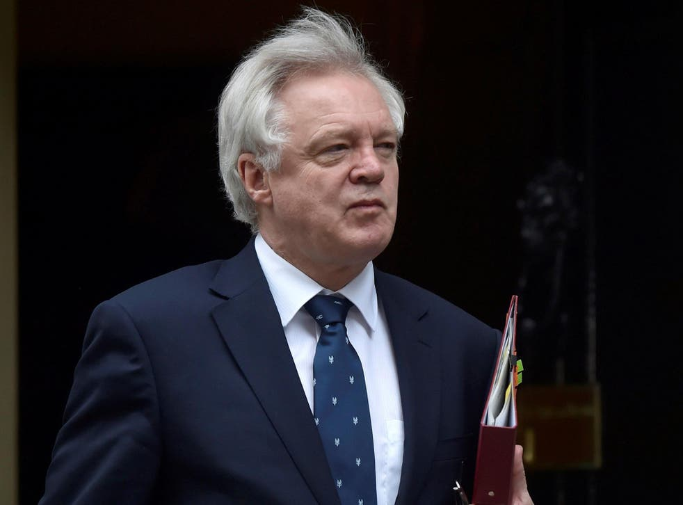 "Britain's Secretary of State for Exiting the European Union David Davis says EU demands to protect its citizens' rights in the UK are ""ridiculously high"""