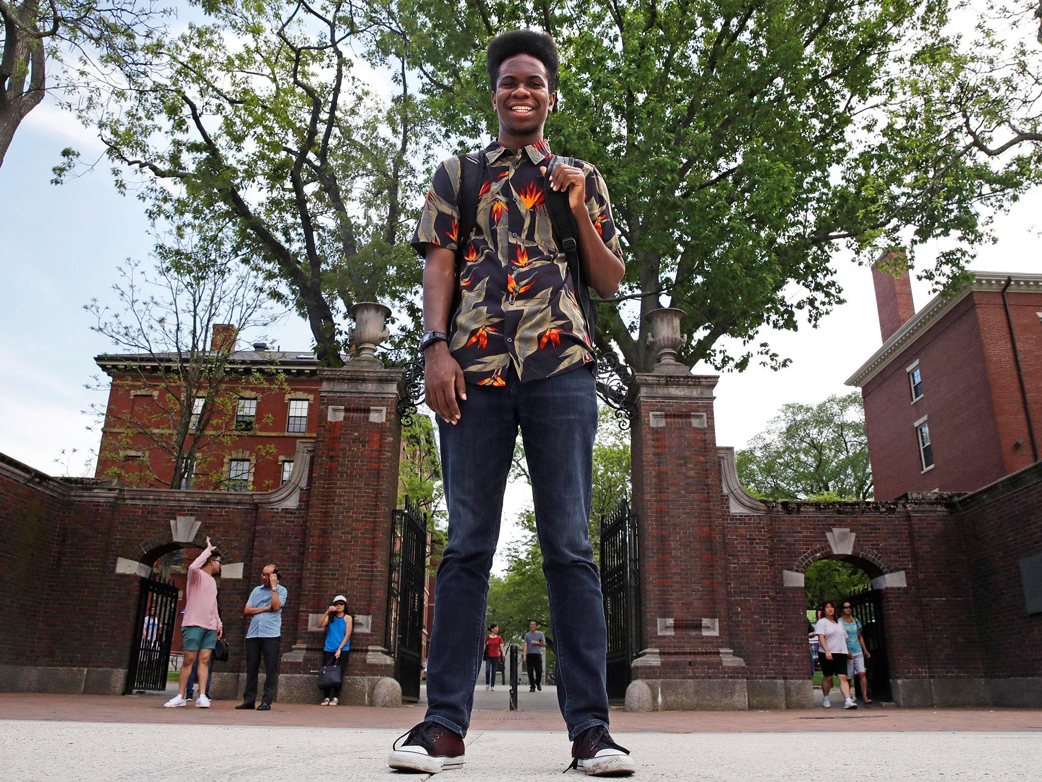 Harvard student graduates with honours after submitting rap album as final year thesis