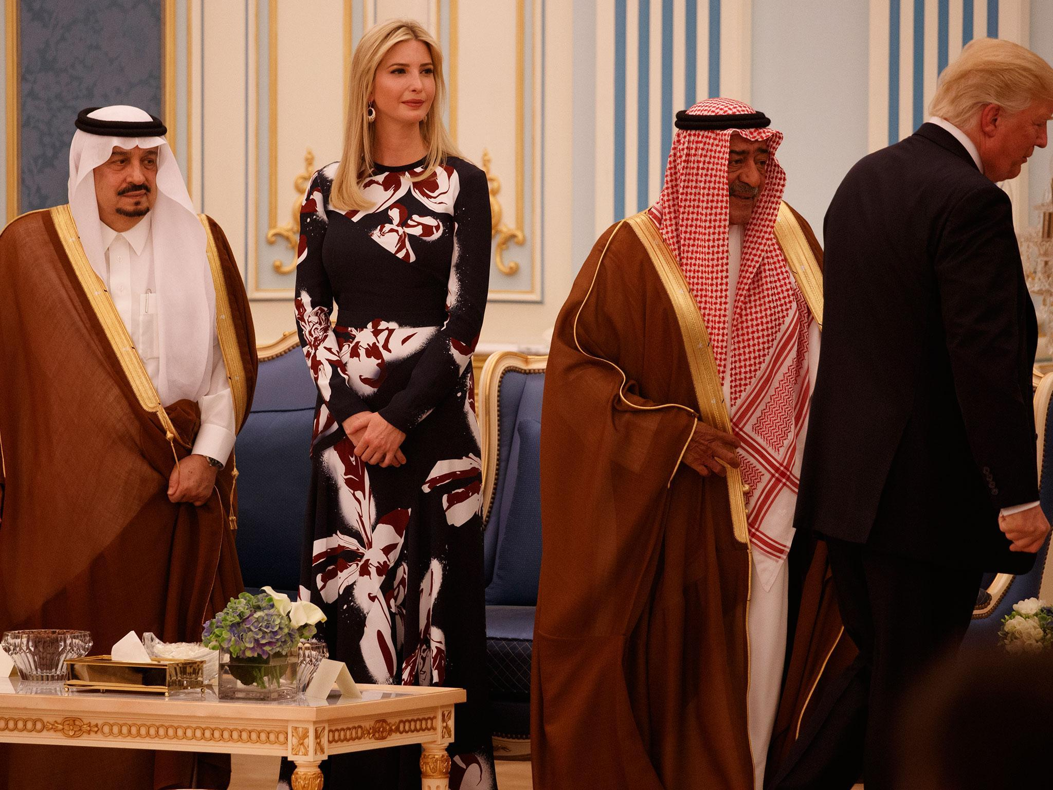 Ivanka Trump praises Saudi Arabia on women's rights after country donates  $100 million to her cause | The Independent