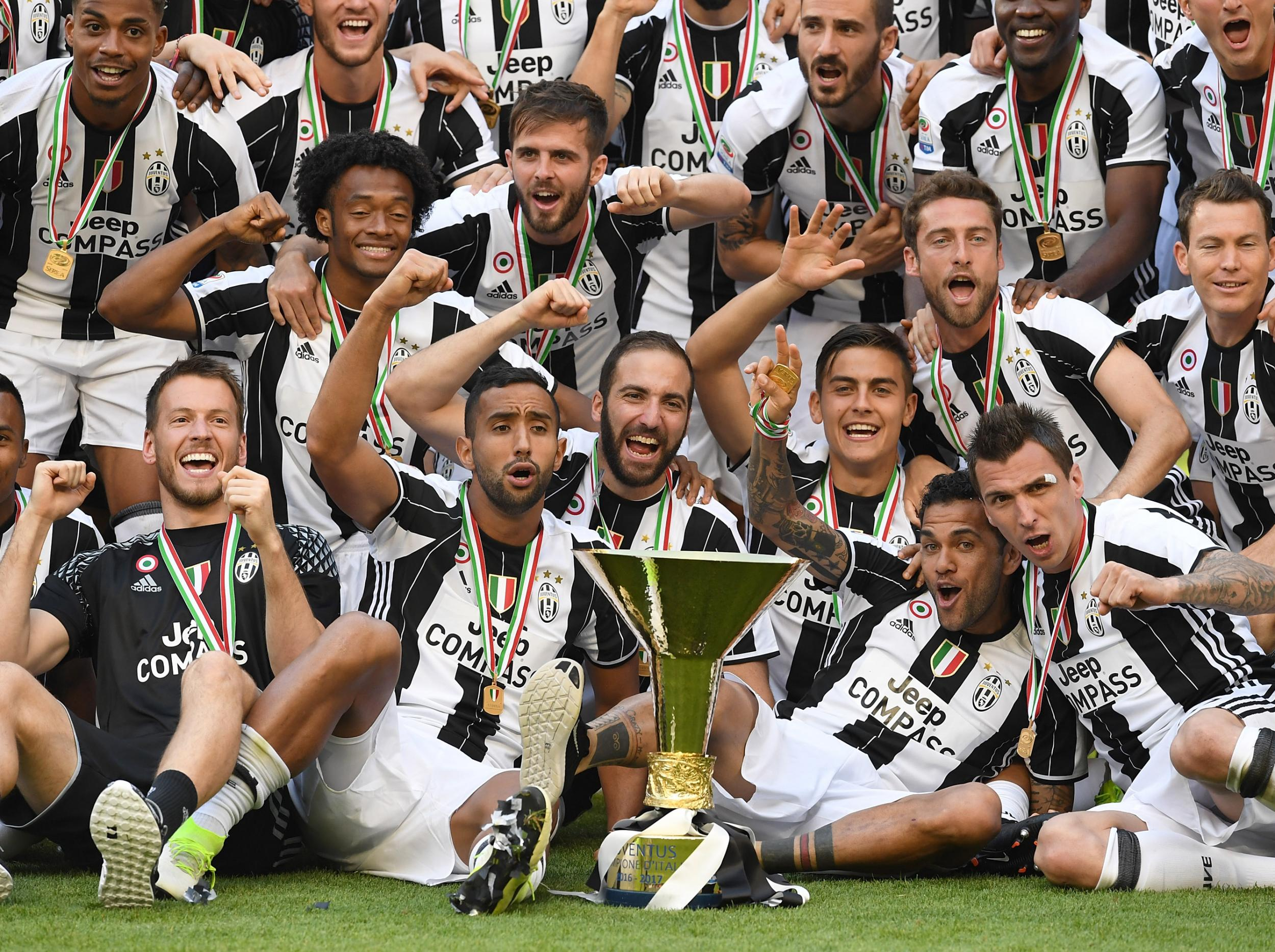 Juventus seal record sixth straight Serie A title ahead of ...