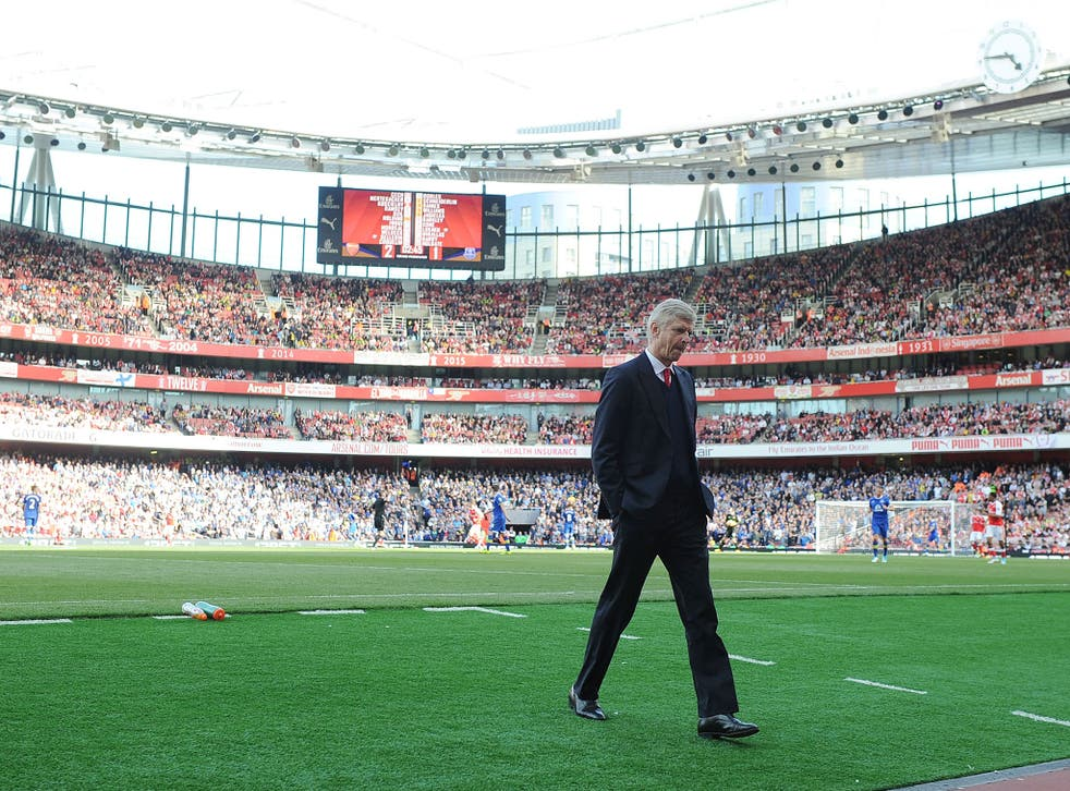 Wenger is still yet to commit his future to Arsenal