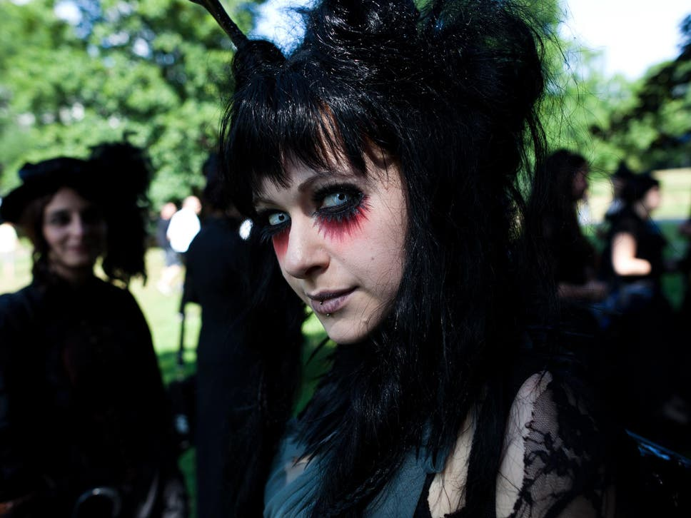 Around 20000 People Each Year Attend The Wave Gotik Festival In Leipzig Germany