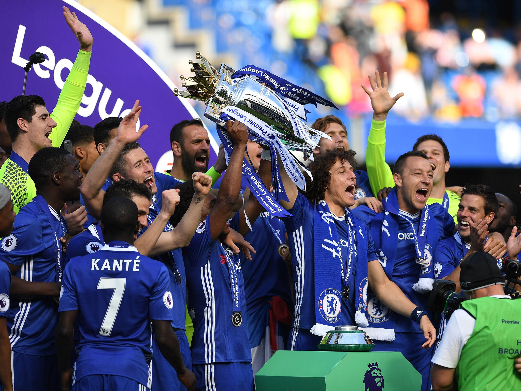 Image result for Record payout for Premier League champions Chelsea