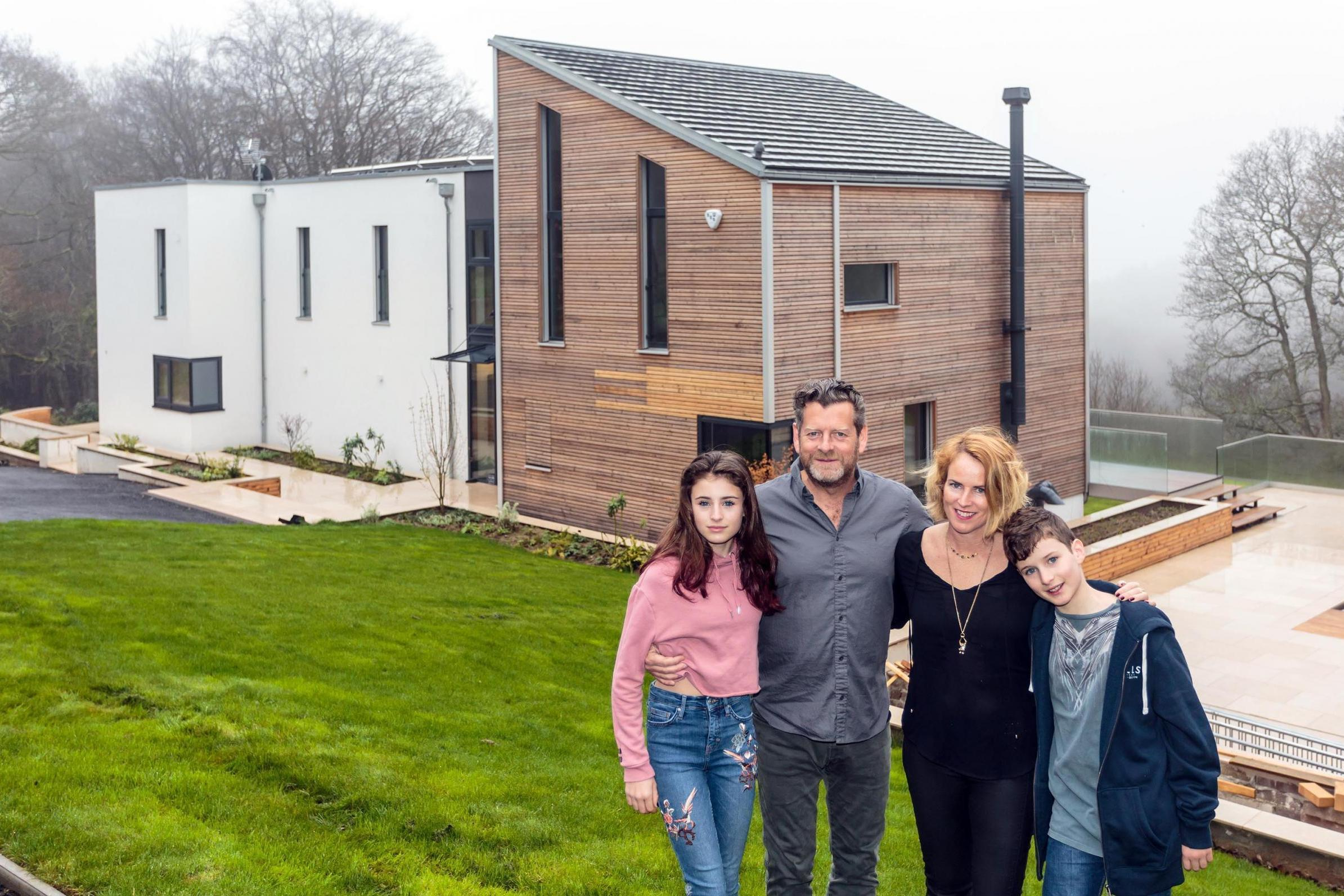 Uk Family Build Dream Six Bedroom Home In Just Four Days