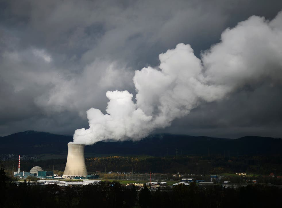 The Goesgen Nuclear Power Plant near Daeniken, Northern Switzerland.