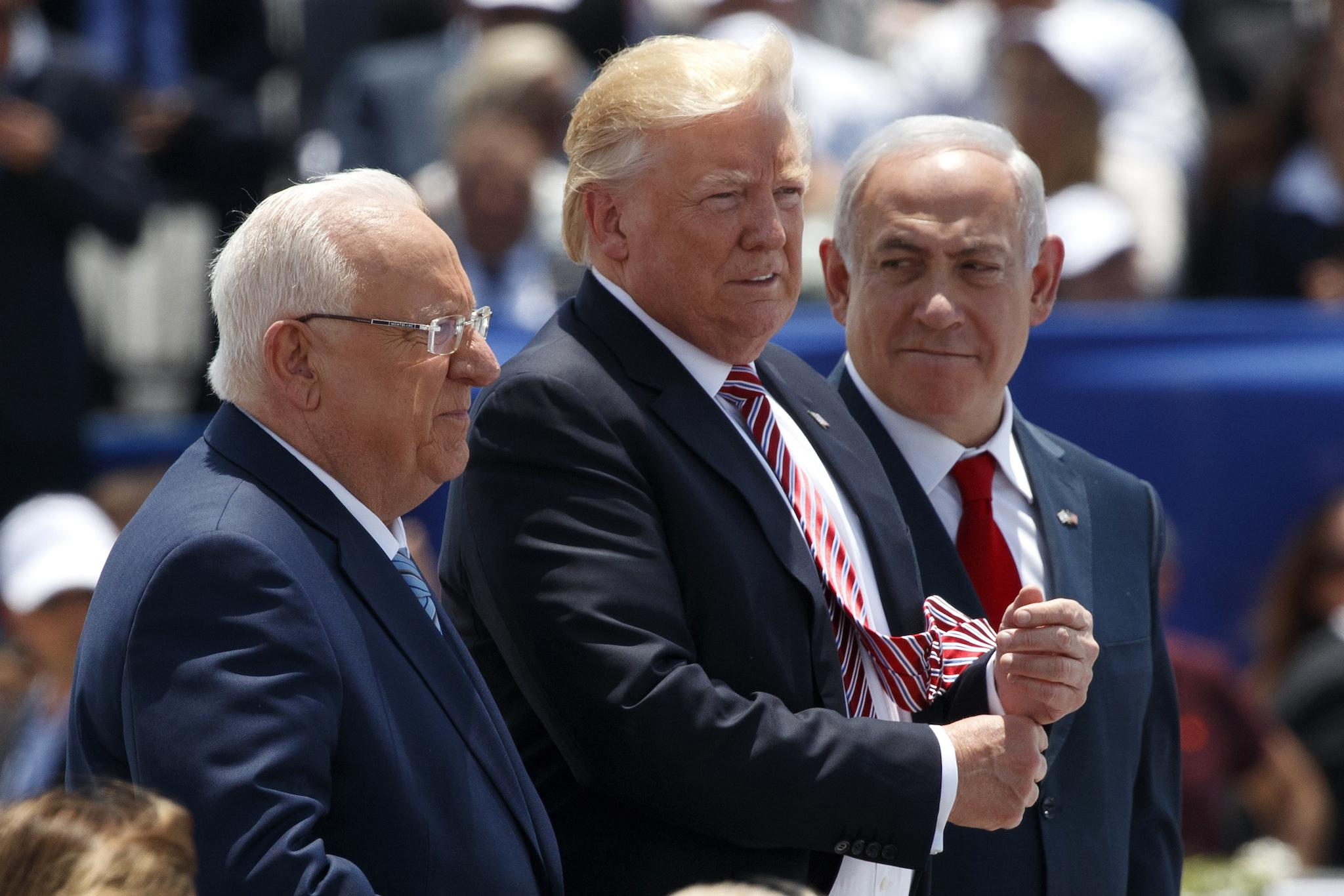 Israeli pm netanyahu wishes muslims ramadan kareem the independent trump seems to accidentally confirm israel was source of intelligence kristyandbryce Images