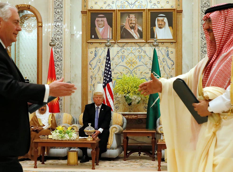 Donald Trump took credit on Twitter for Saudi Arabia's move against Qatar