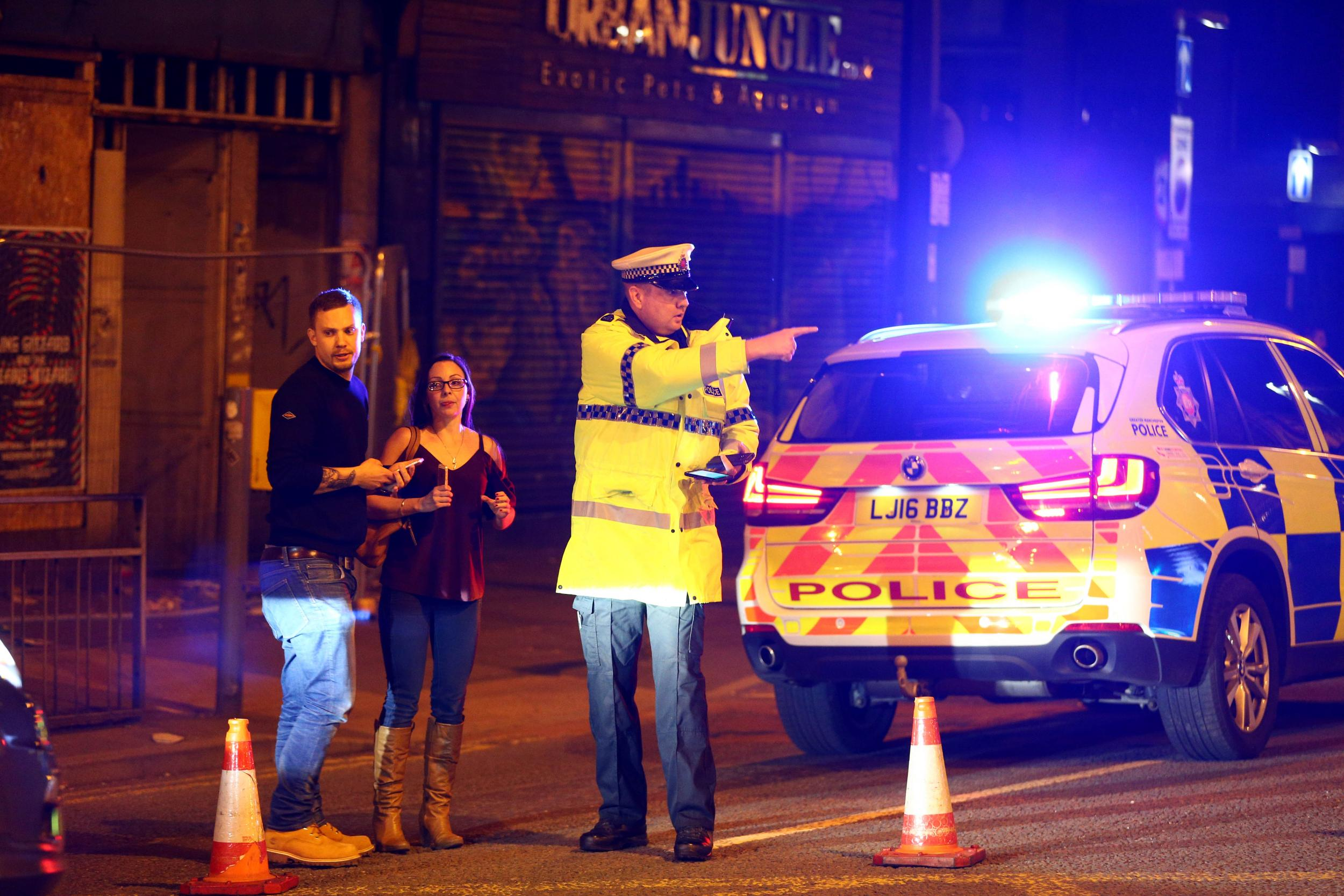 Manchester 'explosion' being treated as 'possible terrorist incident'
