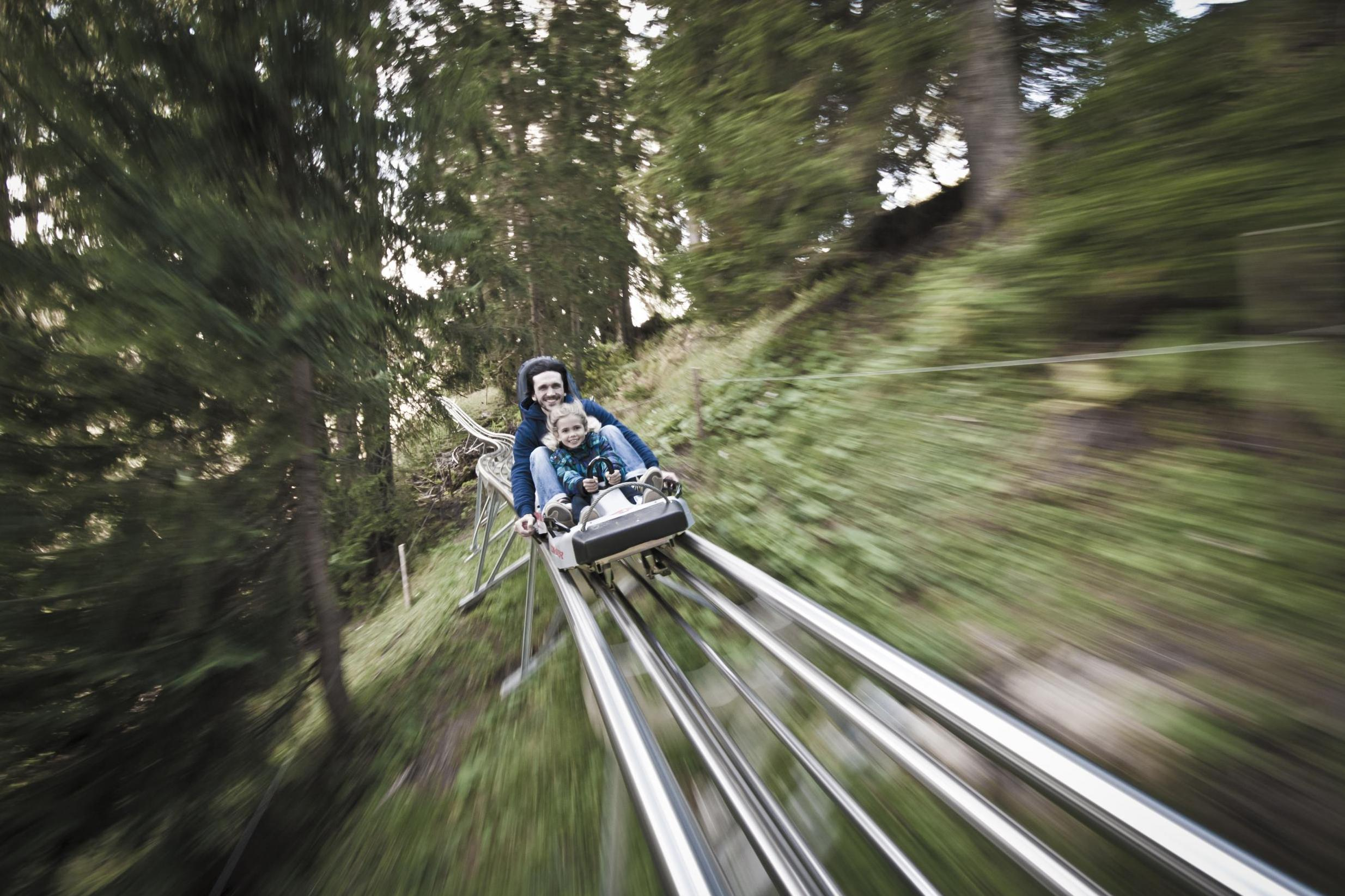 What's it like to ride the UK's first Alpine roller coaster? | The