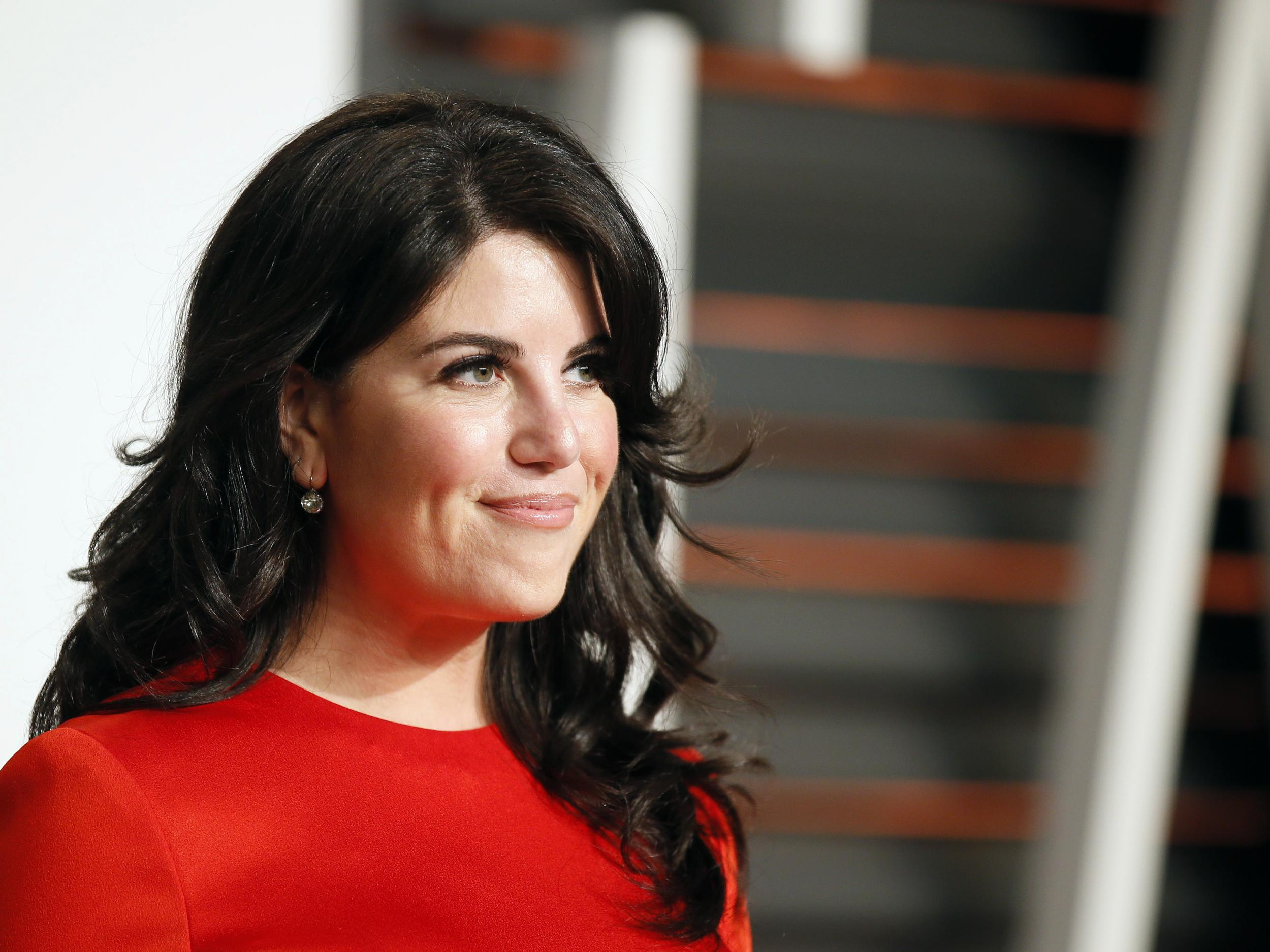 Monica Lewinsky storms off stage after being asked 'off-limits' Bill Clinton question