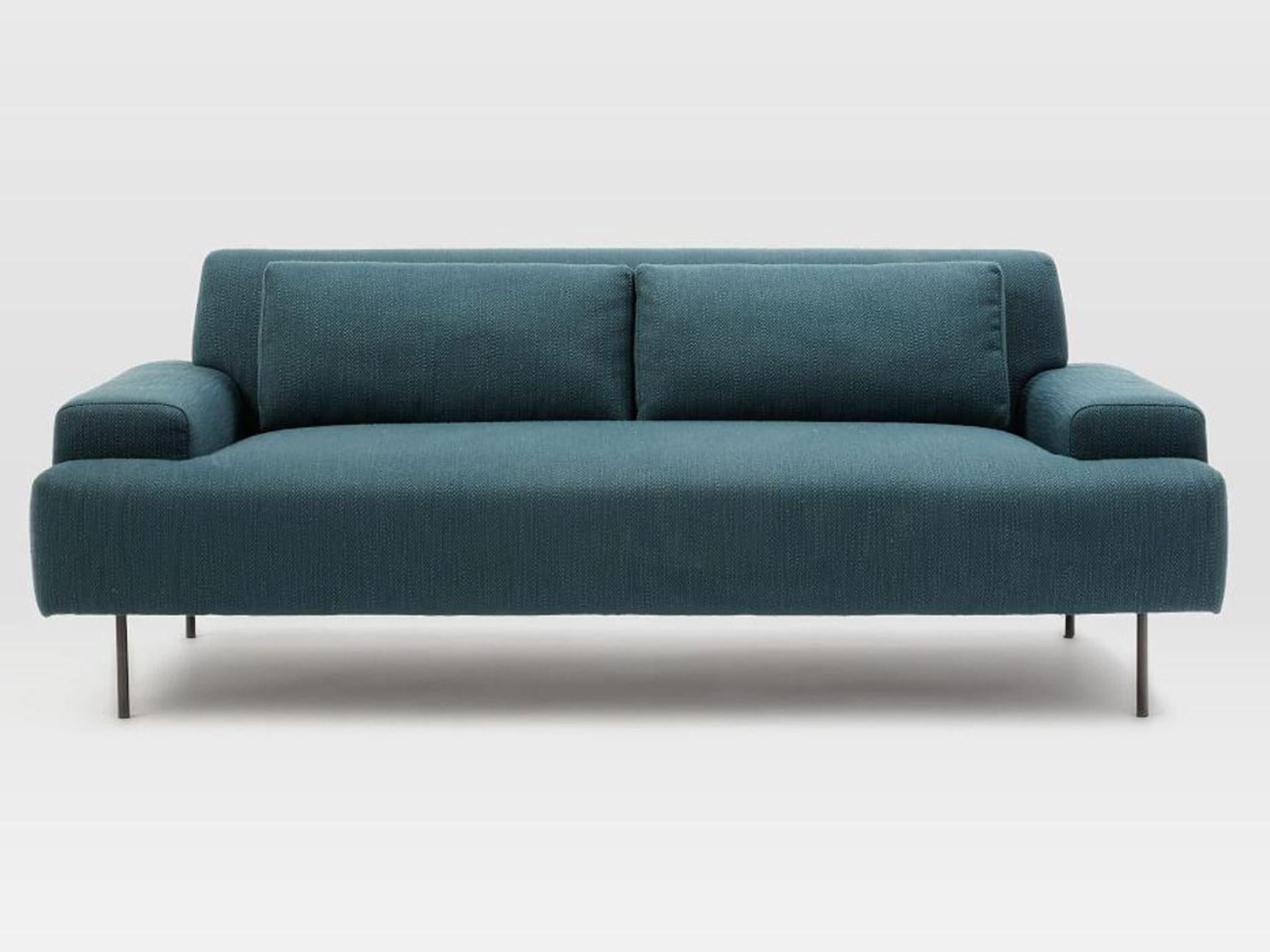 Charmant The Deep And Low Dimensions Of The Beckham Sofa Give It A Laid Back Style.  At 194cm Wide It Seats Two, And Comes In A Textured Teal Fabric.