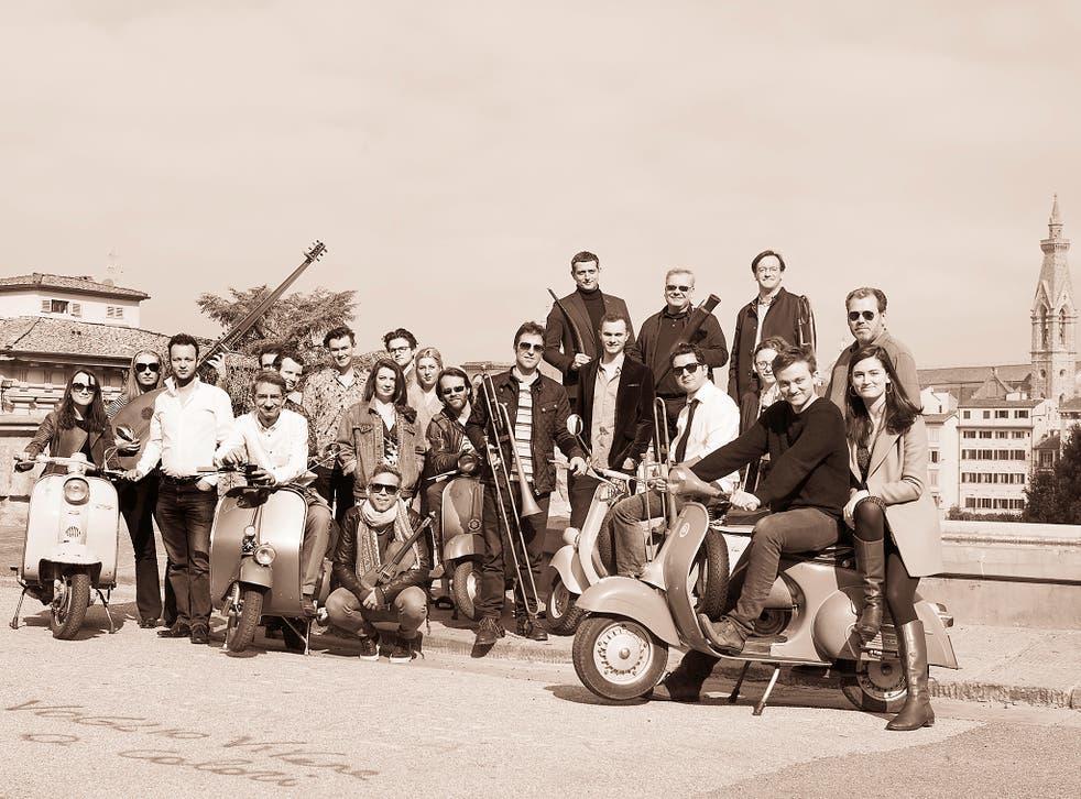 I Fagiolini, with their director Robert Hollingworth