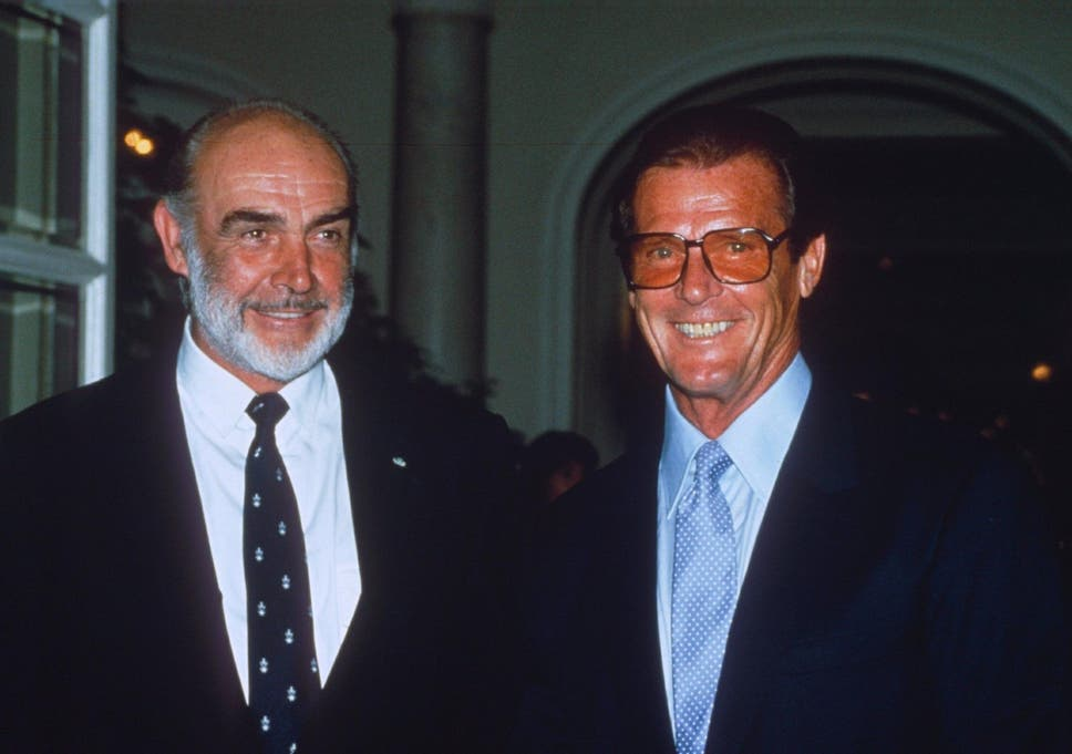 roger moore dead sean connery and pierce brosnan pay tribute to