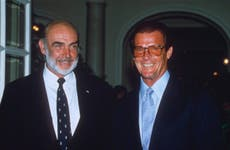 Sean Connery and Pierce Brosnan pay tribute to Roger Moore