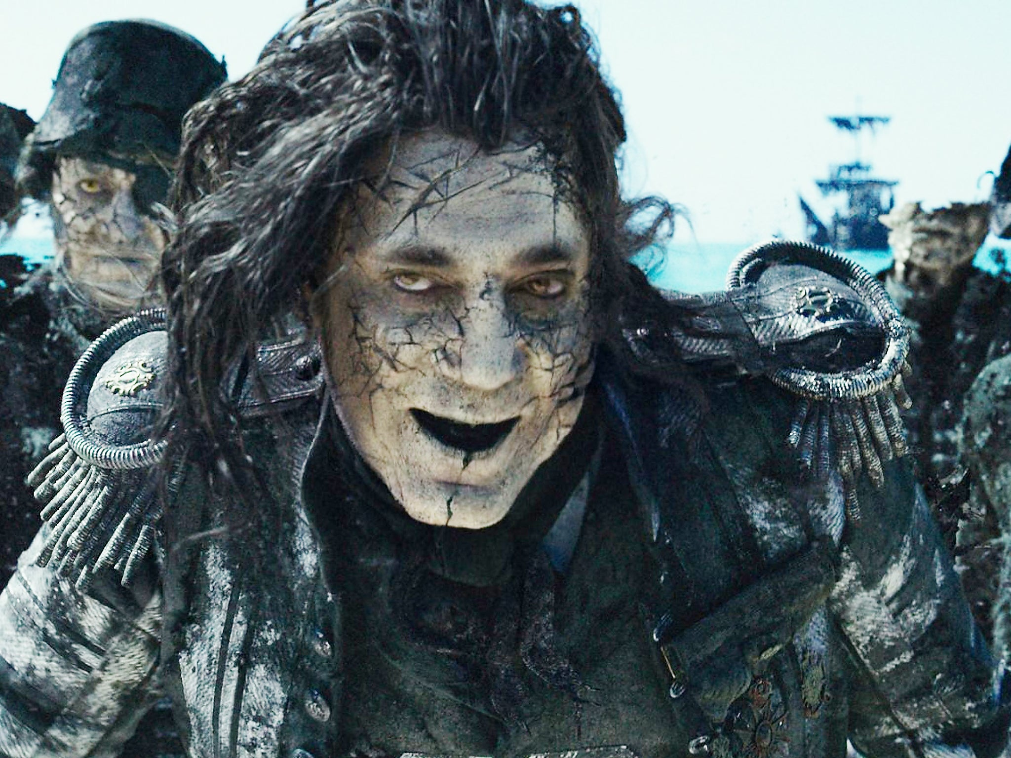 The Villain In Pirates Of The Caribbean Captain  Letters