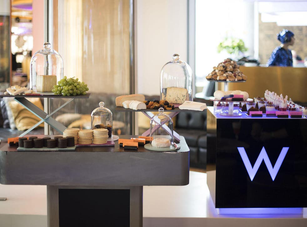The W Hotel puts together an elegant and indulgent feast