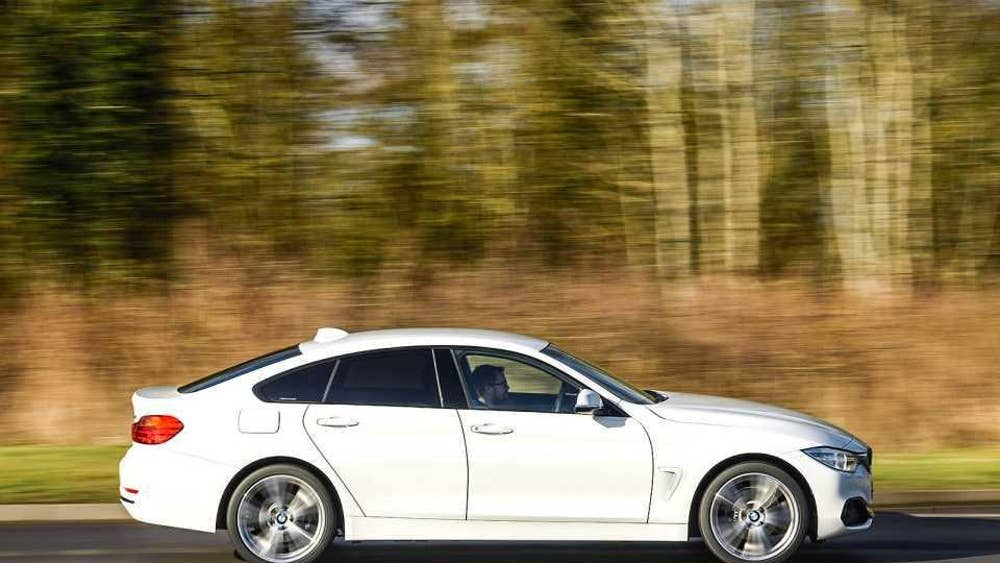 Four Door Coupe Twin Test Audi A5 Sportback V Bmw 4 Series Gran