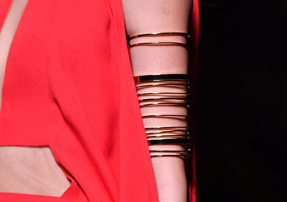 b7a18bc9384dc Arm cuff: The new season jewellery trend to wear with sleeveless ...