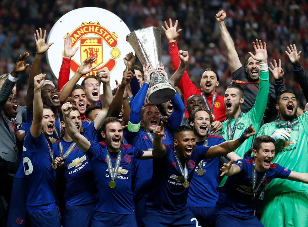 United will return to the Champions League next season after victory in Europe's second-tier competition, the Europa League
