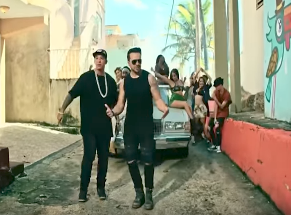 A still from the 'Despacito' remix video ft. Justin Bieber