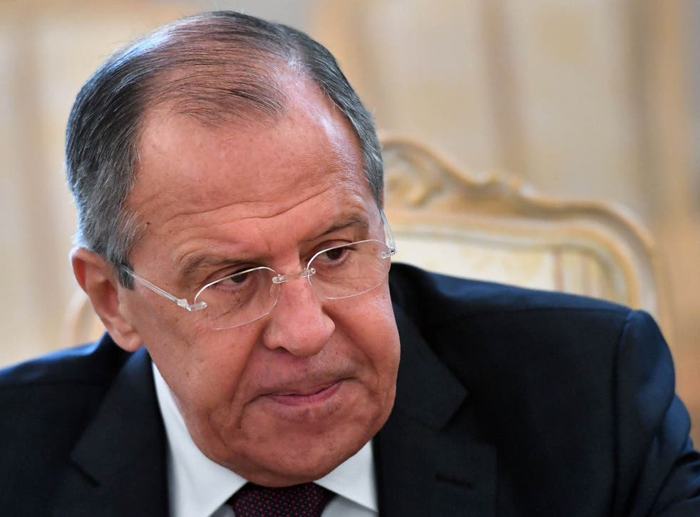 Mr Lavrov has some harsh words for the US on North Korea