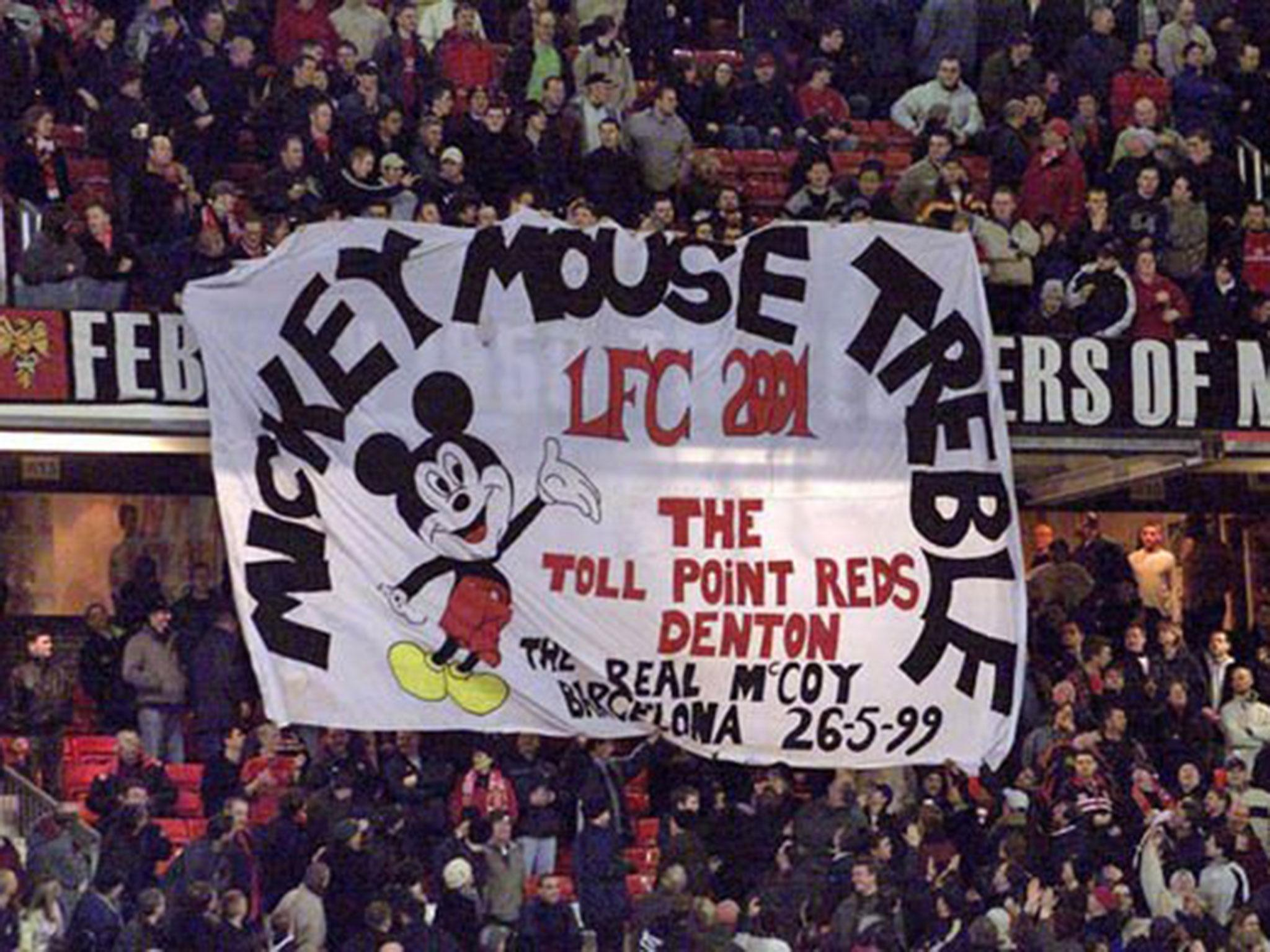Manchester United Fans May Live To Regret This Banner About