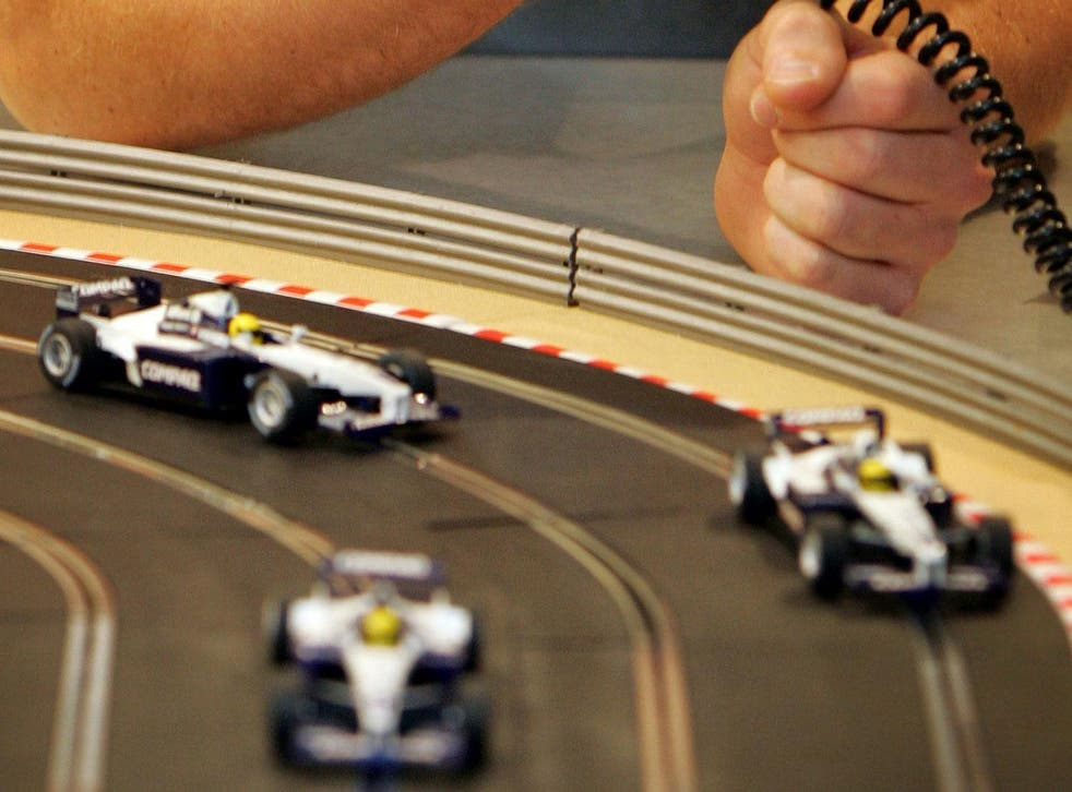 Roads could turn into a full-size version of the children's toy, Scalextric