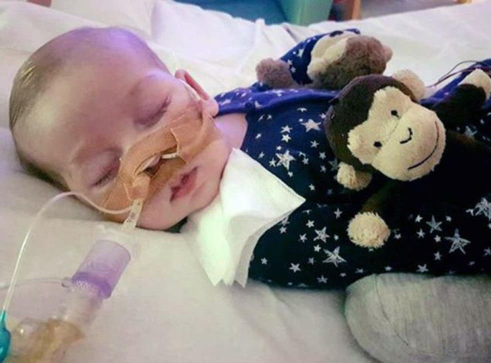 The Foreign Secretary has said that medics must make the decision about Charlie Gard