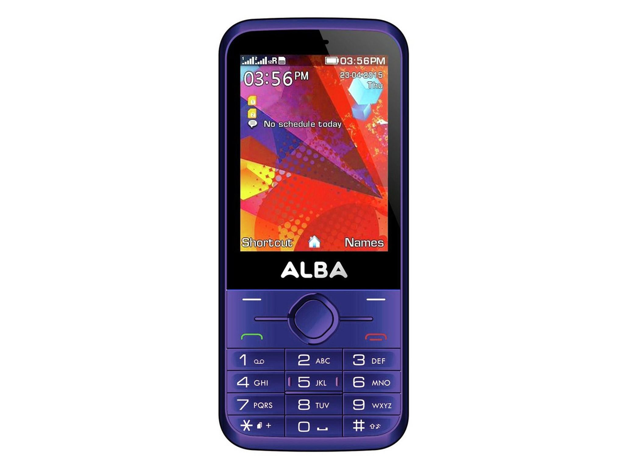 8 Best Feature Phones The Independent Nokia 105 Dual Sim Handphone Black Another Phone Alba Has A Basic 03 Megapixel Camera And Comes In Vibrant Purple Colour Though Red Blue Are Also Options