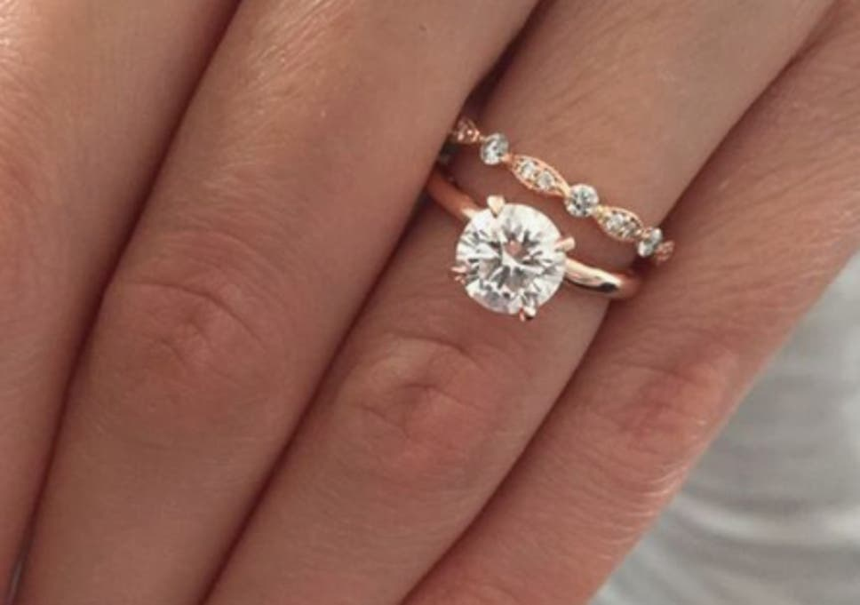 World S Most Popular Engagement Ring With 103 900 Pinterest Saves
