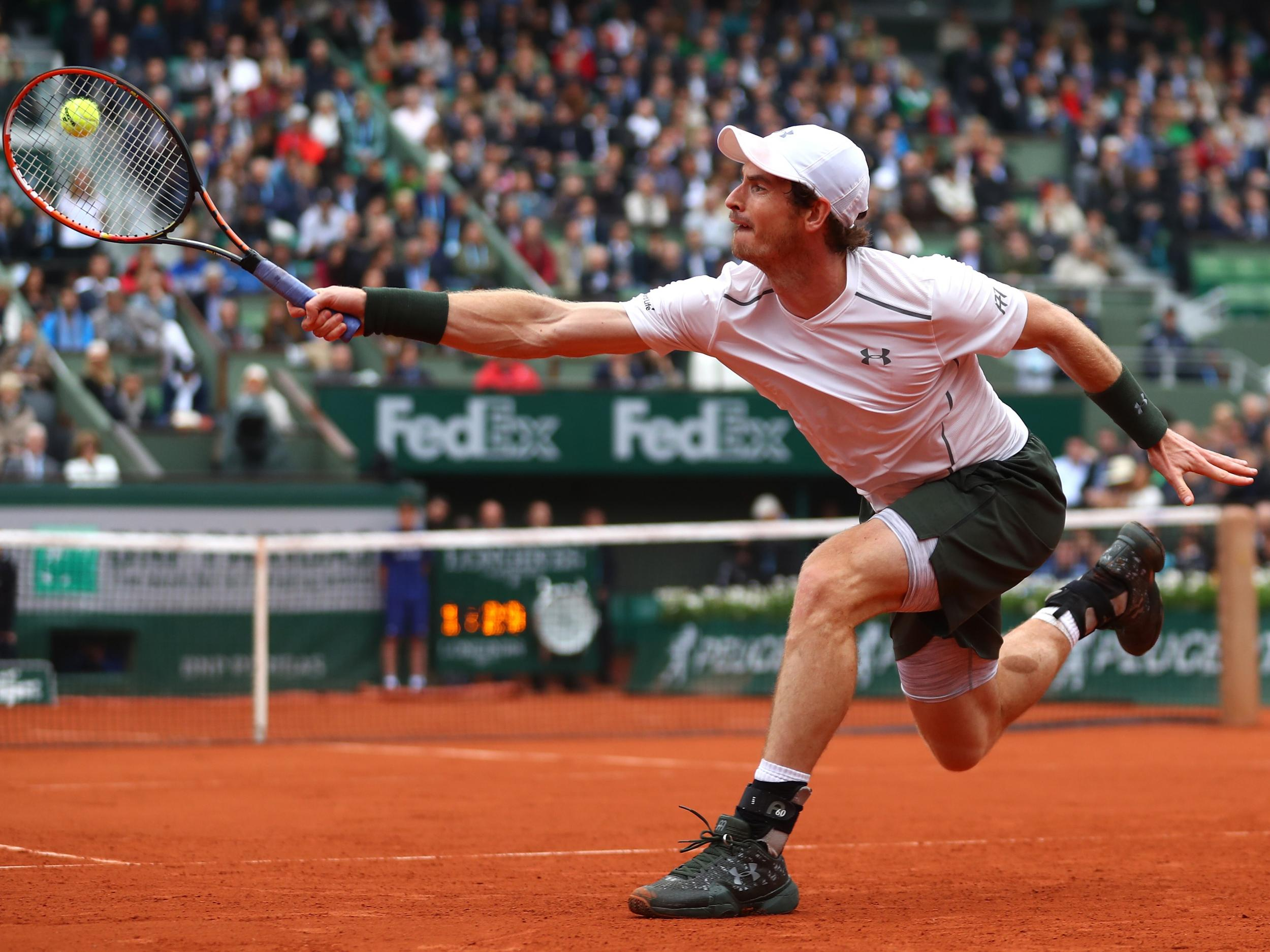 10ecee0863f French Open 2017  Andy Murray to play Russian Andrey Kuznetsov in the first  round at Roland-Garros