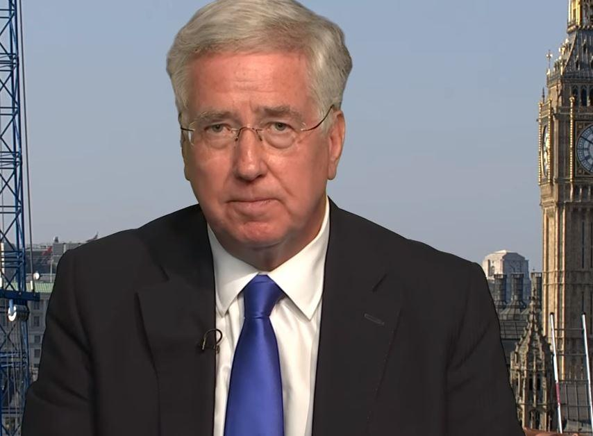Michael Fallon condemns Boris Johnson statement on terror attacks after being told it was said by Jeremy Corbyn