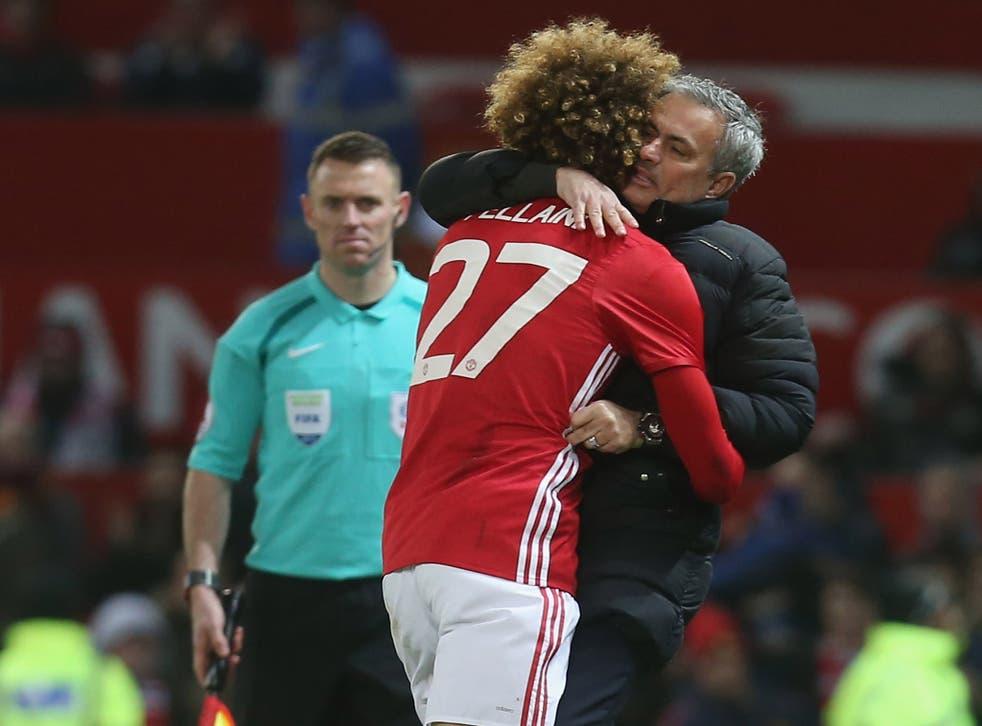 Fellaini has enjoyed a resurgence since Mourinho took over at Old Trafford