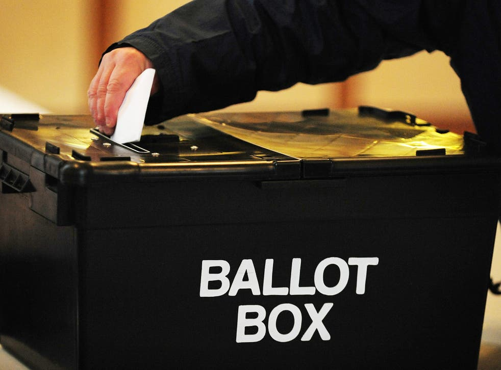 Voters in Plymouth have demanded a re-election