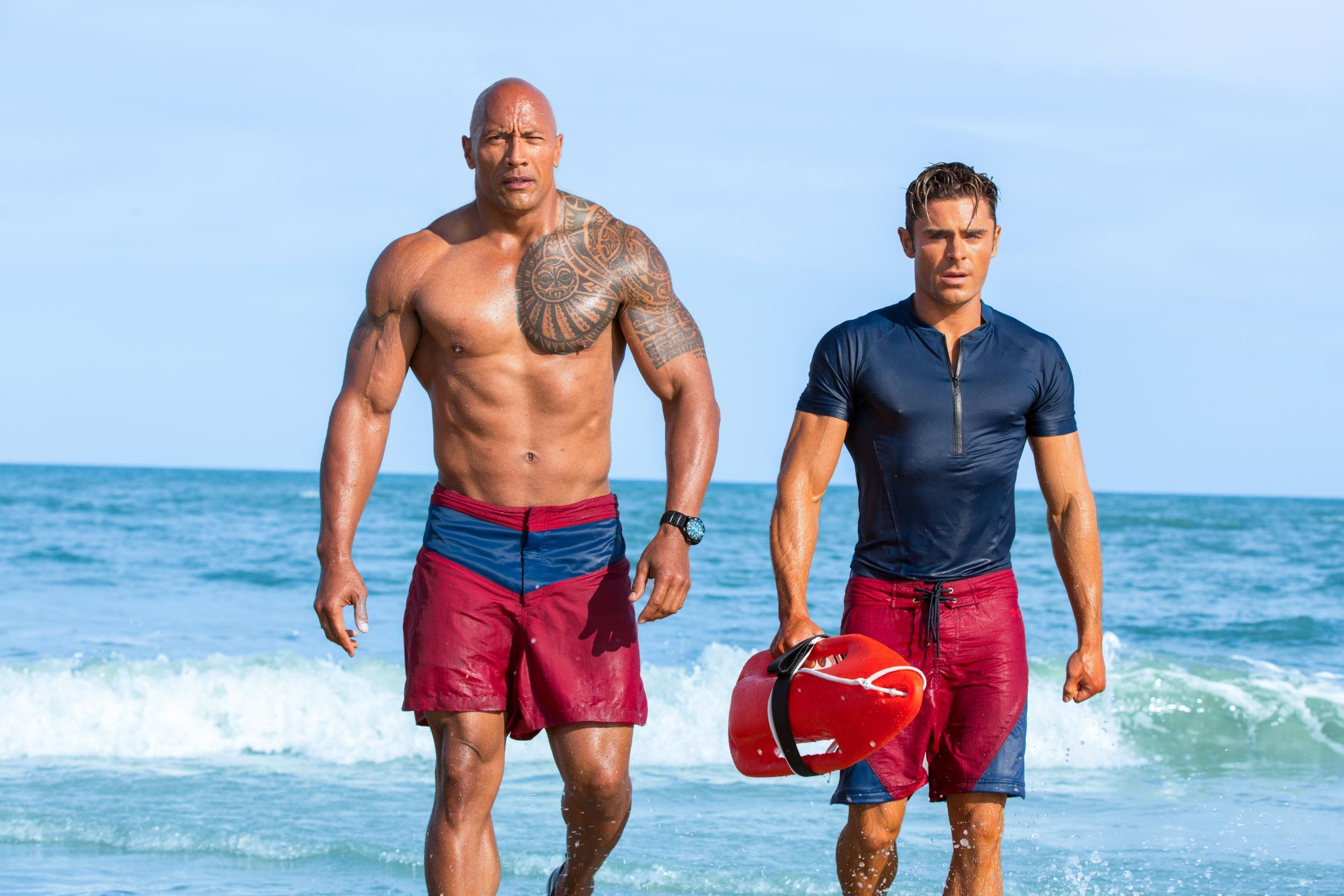 Baywatch: Dwayne Johnson hits back at the film's poor reviews | The  Independent | The Independent